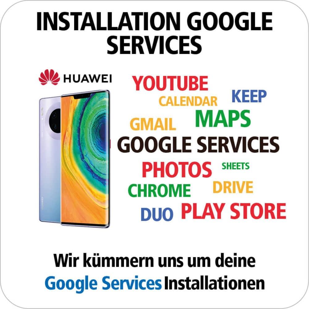 Google Services Installation -Wir kümmern uns
