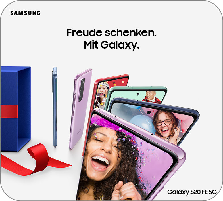 Holiday Campaign – Samsung S20FE