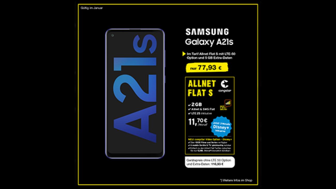Samsung A21